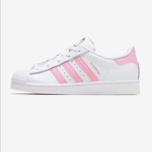 Adidas Baby Pink Superstars